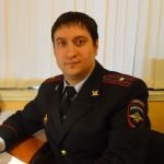 Начальник штаба Серовского ОВД Владимир Чудинов