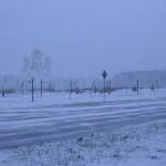 """Как всегда, зима нагрянула внезапно... Фото: Константин Бобылев, """"Глобус""""."""