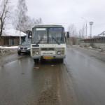 повреждения автобуса