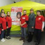 В Серове провели экспресс-тестирование на ВИЧ и антинаркотическую акцию