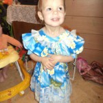 26 февраля Карине исполнится 3 годикак. Лучшим подарком для нее станут собранные на операцию деньги. Фото: домашний архив Марининых.