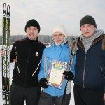 Лыжники электроцеха победили в командном зачете