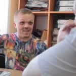 Артем Бобцов, артист и КВНщик. Фото: Константин Бобылев, «Глобус»