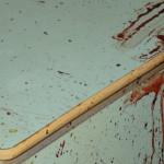 Совершение этого кровавого преступления вызвало в городе резонанс. Фото с места убийства. Фото: полиция Серова.