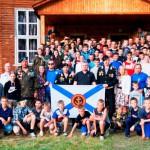 Фото курсантов сборов Витязь на память с гостьями из Серова