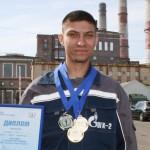 Павел Верст с наградами Спартакиады Газпром энергохолдинга