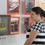 """На открытии выставки присутствовала Елена Бердникова. Фото: Константин Бобылев, """"Глобус""""."""