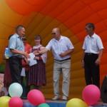Награждение призеров и победителей конкурса гармонистов.