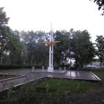 """Вот так сейчас выглядит памятник """"железнодорожникам - защитникам Отечества"""". Фото: Константин Бобылев, """"Глобус""""."""