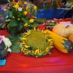 """В Серове прошла выставка плодов и овощей """"Дары осени""""."""