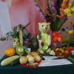 """Выставка плодов и овощей состоялась в досуговом центре """"Родина""""."""