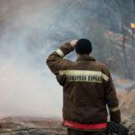Жители сервоского поселка Красный Яр сообщают, что в поселке сгорело несколько домов. пожарных частей. Фото: Константин Бобылев,  «Глобус»