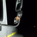 В Серове проезжавший грузовик ударил пешехода зеркалом. Все фото: ГИБДД Серова.