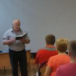 Презентация второго издания книги «В углу» прошла летом. У автора появились планы и на третью книгу. Фото: Андрей Клейменов, «Глобус»