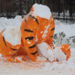 """Тигру повезло меньше всех... Фото: Константин Бобылев, """"Глобус""""."""
