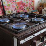газ плита печь