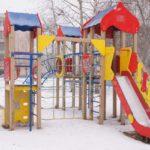 Детская площадка недалеко от управления образования