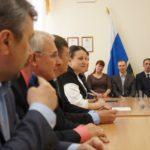 Модератором встречи выступила Елена Бердникова, глава городского округа