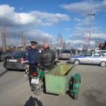 В Серове и Сосьве Госавтоинспекция проверяет мотоциклистов. Все фото предоставлены Ольгой Рагозиной.