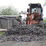 На первом этапе проекта будет выделено порядка 6000 кубометров щебня.