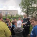 """Полиция и ВДПО в детском городском лагере провели для детей игру """"Безопасное лето"""". Все фото: полиция Серова."""