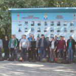 """Сегодня на областной сборочный пункт в Егоршино из Серова выехали 24 парня. Фото: Константин Бобылев, """"Глобус""""."""