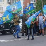"""Построение на шествие. Фото: Мария Чекарова """"Глобус""""."""