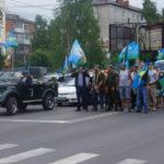 """Построение на торжественное шествие. Фото: Мария Чекарова """"Глобус""""."""