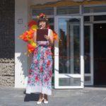 Сотрудник управления культуры Ксения Смоленцева на открытии фестиваля