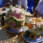 Фигурная резка овощей и фруктов