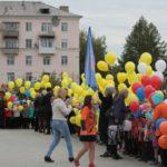"""На площади собралось больше тысячи первоклассников. Фото: Константин Бобылев, """"Глобус""""."""