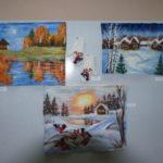 """Картины из шерсти. Фото: Мария Чекарова, """"Глобус""""."""