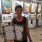 Победитель конкурса буктрейлеров Марина Демчук. Фото: личный архив Марины Демчук.
