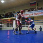 Поединок воспитанников тагильского бокса