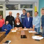 Недавно в Доме молодёжи состоялся общий сбор организаторов городской игры КВН и представителей команд. Фото: Дарья Бучик, предоставлено Сергеем Мичуровым.