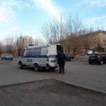 """Нападавший мужчина был задержан на месте преступления. Фото: Мария Чекарова, """"Глобус""""."""