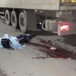 """В ДТП в Серове погибли две женщины. Грузовик сбил их на пешеходном переходе. Фото: Мария Чекарова, """"Глобус""""."""