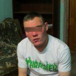 Задержанный по подозрению в серии жестоких преступлений в Серове. Фото предоставлено Валерием Горелых, пресс-секретарем ГУВД России по Свердловской области.