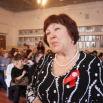 Надежда Смирнова принимала участие в закладке капсулы