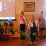 В процессе церемонии многие причастные к работе в школе в советский период приветствовали гостей