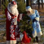 Дед Мороз, Новый год, елка
