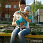 """Анна Уварова с первым своим ребенком. Второго - еще не успевшего родится -женщина потеряла. Фото: страница Анна в соцсети """"Вконтакте""""."""