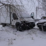 """В Серове столкнулись ВАЗ и """"Фиат"""". Есть пострадавший. Фото: ГИБДД Серова."""