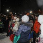 """На открытие городка пришли сотни серовчан. Фото: Мария Чекарова, """"Глобус""""."""