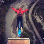 Виталий Белунский: «Лечу, как птица, расправив крылья над землей». Фото: предоставлено Виталием Белунским