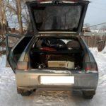Угнанный автомобиль. Фото: Наталья Большакова.