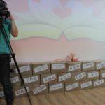 """В коробках подарки для участников батла. Фото: Константин Бобылев, """"Глобус""""."""