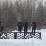 Наряд полиции на митинге