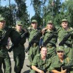 На снимке Сергей Мухаметвалиев - третий в верхнем ряду. Фото из архива Сергея.