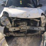 В ДТП Lifan пострадал достаточно серьезно. В машине сработали подушки безопасности. Фото предоставлено Анастасией.
